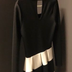 Black and White Charlotte Russe Dress